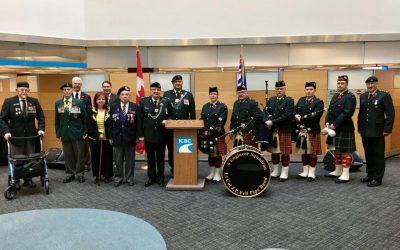 ICBC Remembrance Day Service